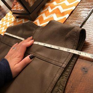john f gee Jackets & Coats - NWOT faux leather vest